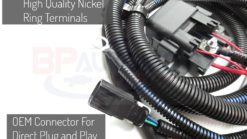 Fan Harness Ring Terminals and Connector