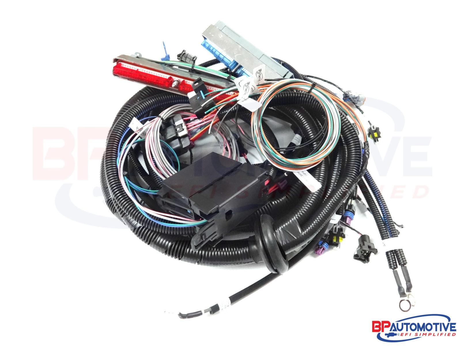 4l80e Standalone Wiring Reinvent Your Diagram Internal Harness 1999 2002 Dbc Vortec With Transmission Rh Bp Automotive Com Valve Body