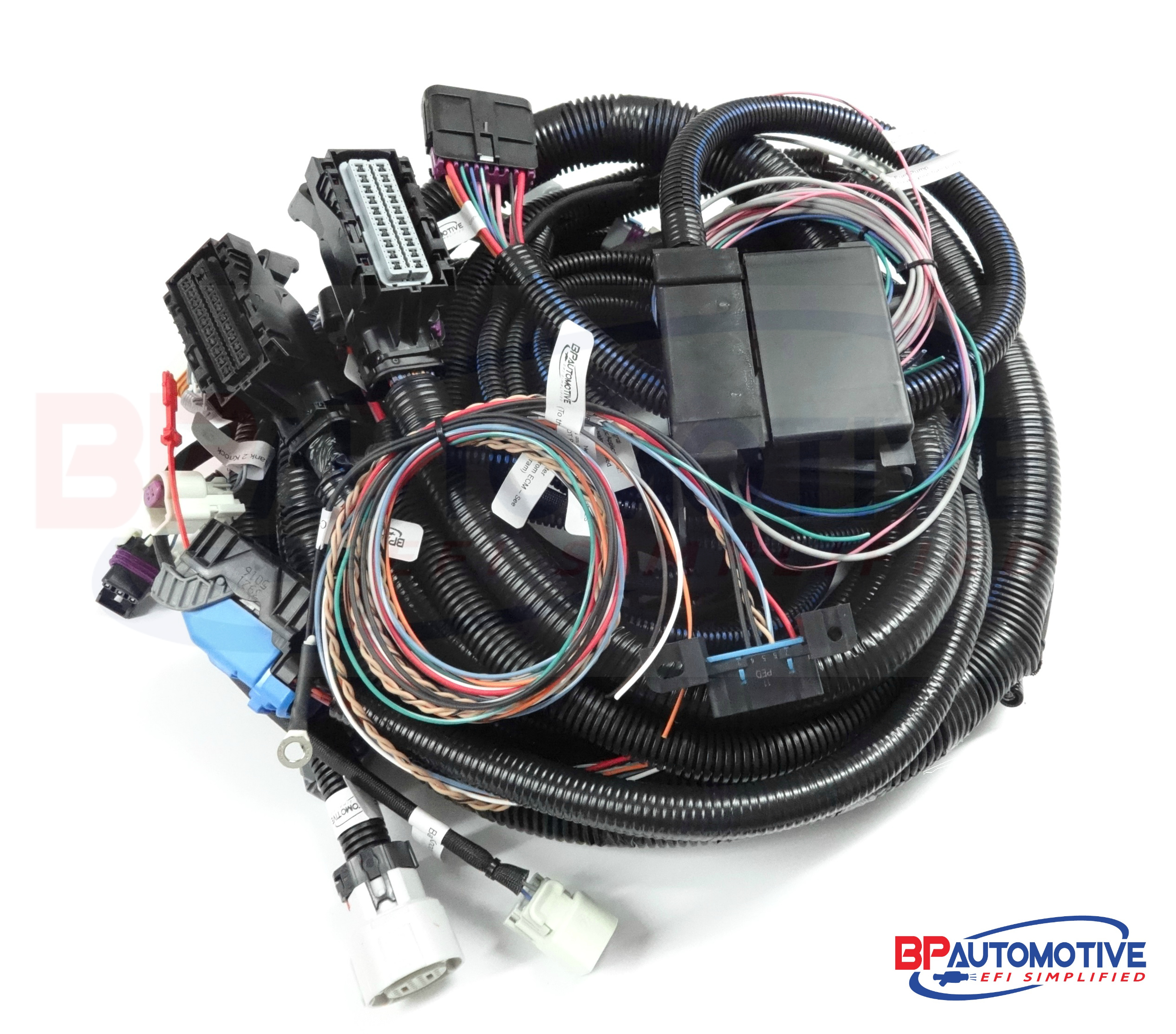 2007 2014 Ls2 Based Gen Iv T56 Tr6060 Or Non Electric Transmission Standalone Ls Swap Harness Wiring Rolled A4 Watermark