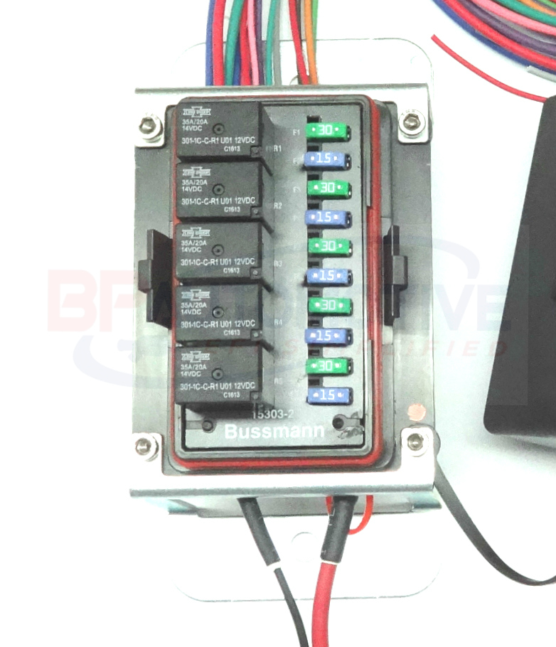 waterproof universal off road relay and fuse power ... universal fuse box