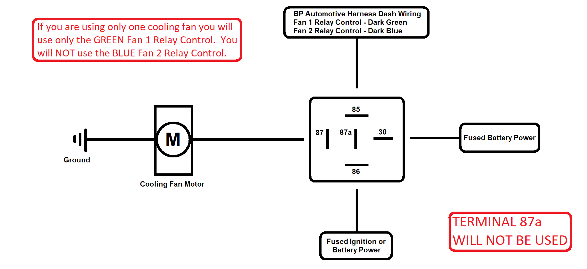 Manual Electric Fan Wiring Diagram from www.bp-automotive.com